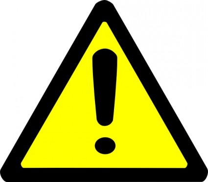 warning clipart
