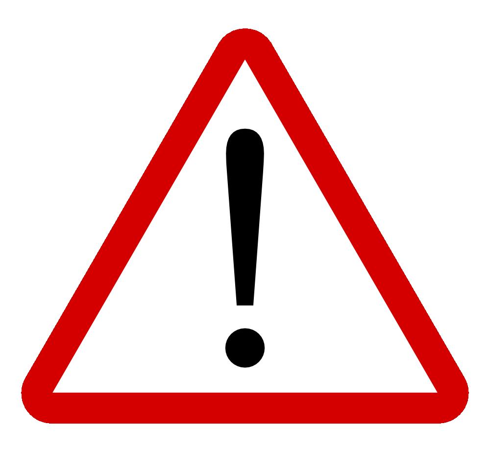 warning clipart