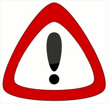 Warning Clip Art