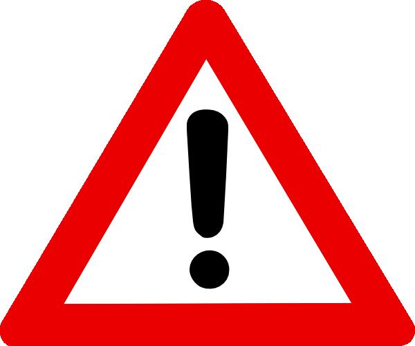 Warning Sign Clip Art At Clker Com Vecto-Warning Sign Clip Art At Clker Com Vector Clip Art Online Royalty-16