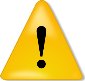 Warning Sign Clip Art - Caution Sign Clipart