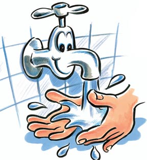 Wash your hand clipart - .