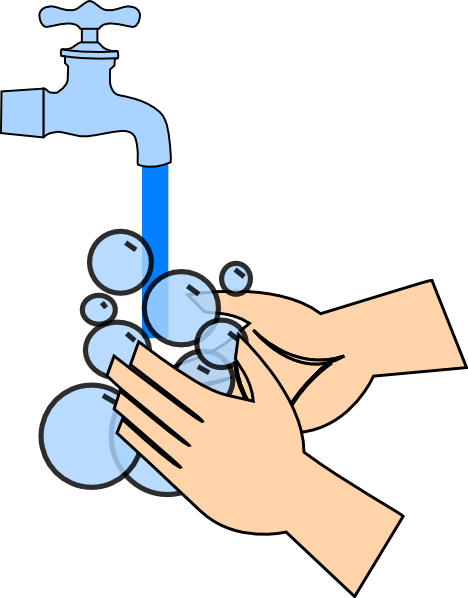 Washing Hands Clip Art At Clker Com Vector Clip Art Online Royalty