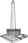 Washington Monument Clipart Size: 30 Kb From: Architecture