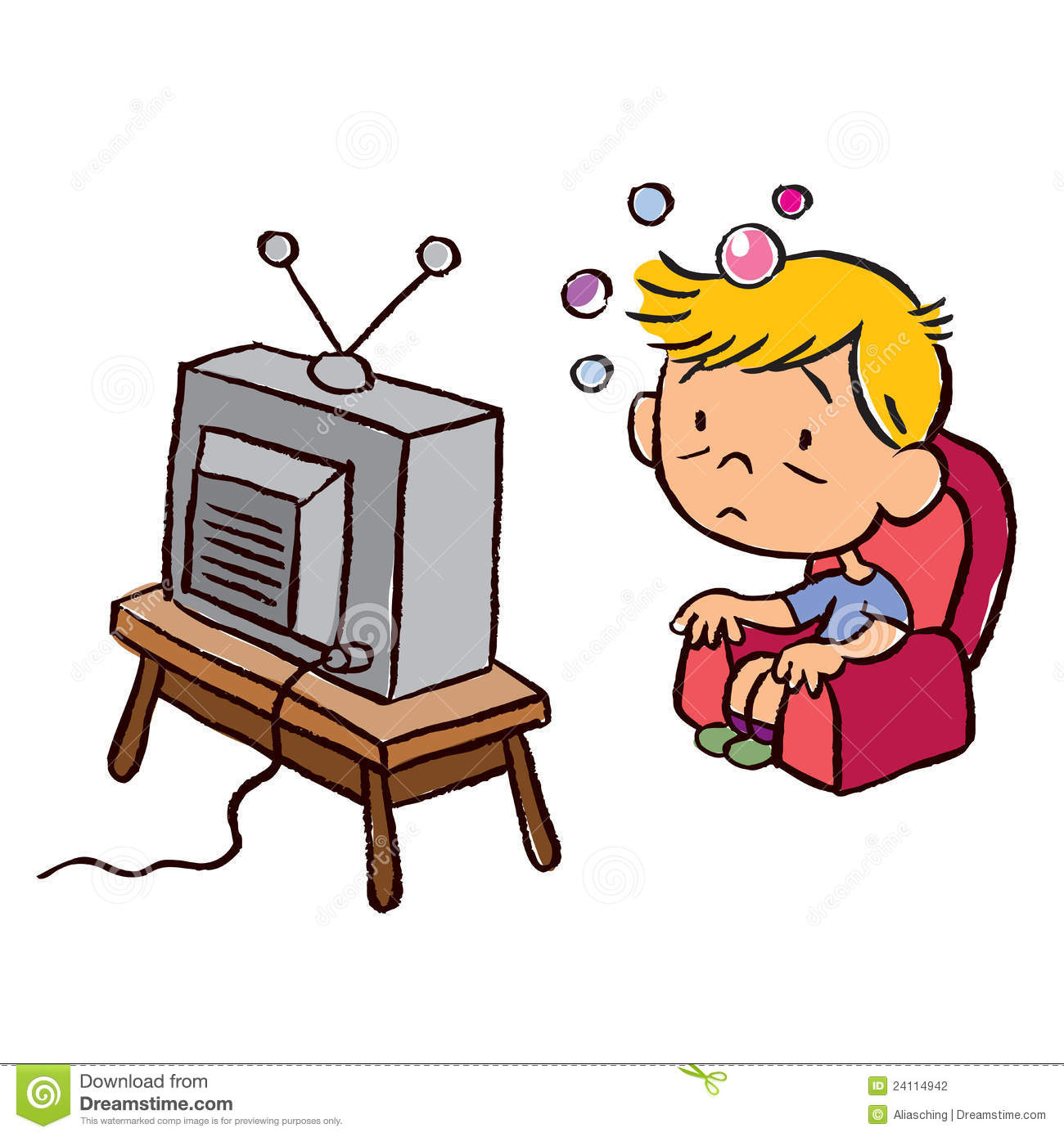Watch Tv Clipart Ile Ilgili .