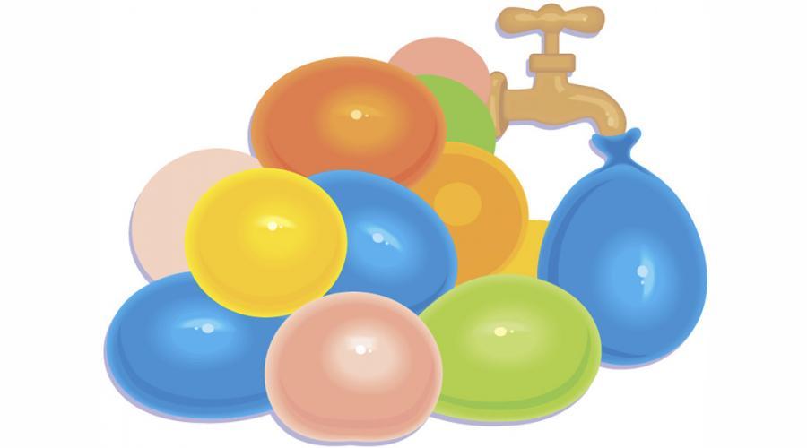water balloon clipart. Water Balloon Relay Race