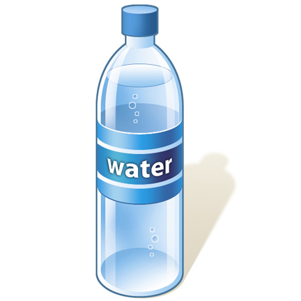 Water Bottle Clip Art Happy Fan Chat-Water Bottle Clip Art Happy Fan Chat-2