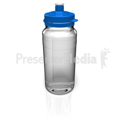 Water Bottle PowerPoint Clip Art