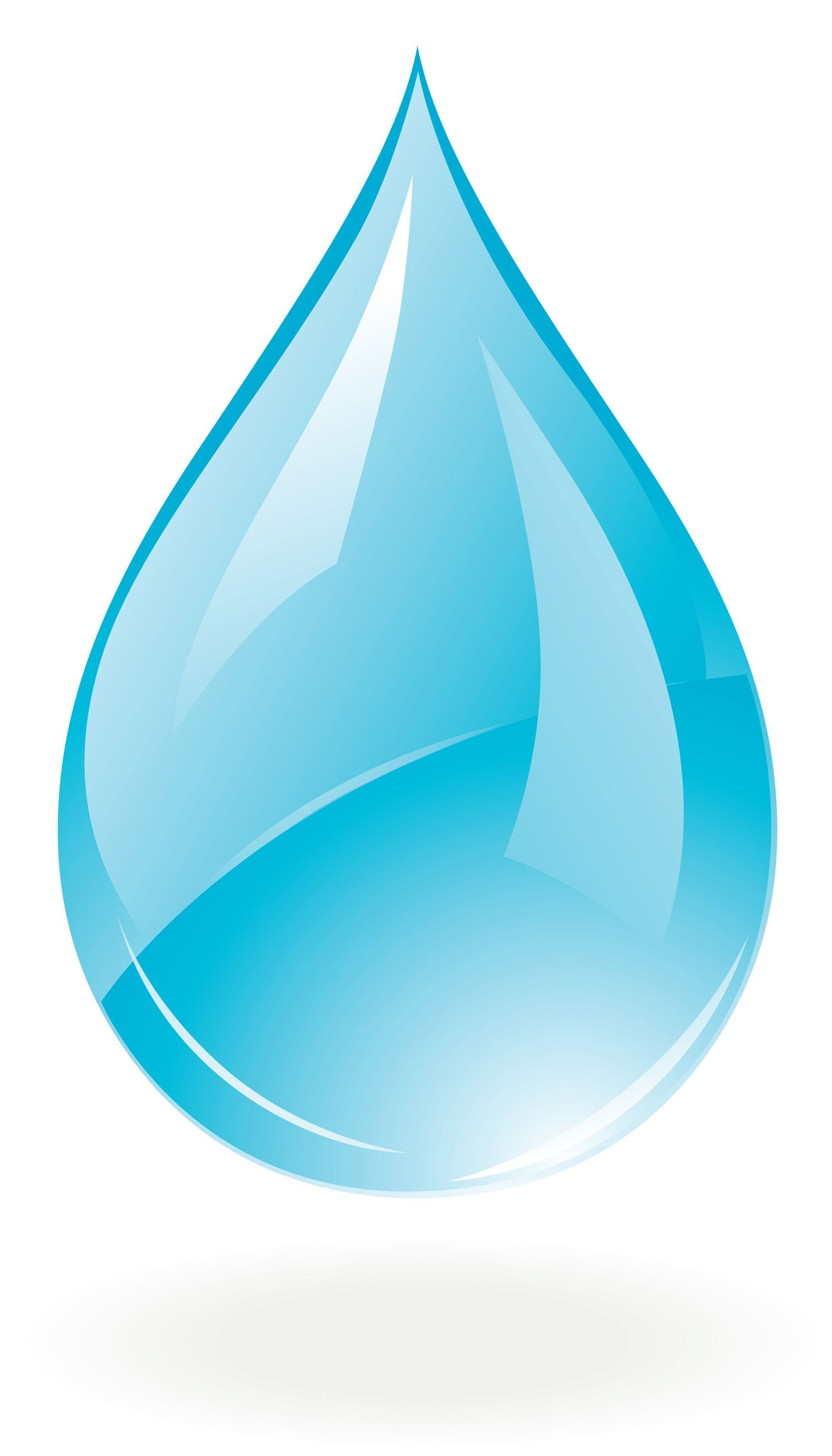 Water Drop Psd Clipart