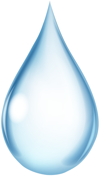 Water Drop Transparent PNG Clip Art Image