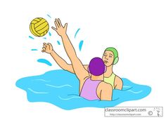 water polo clip art