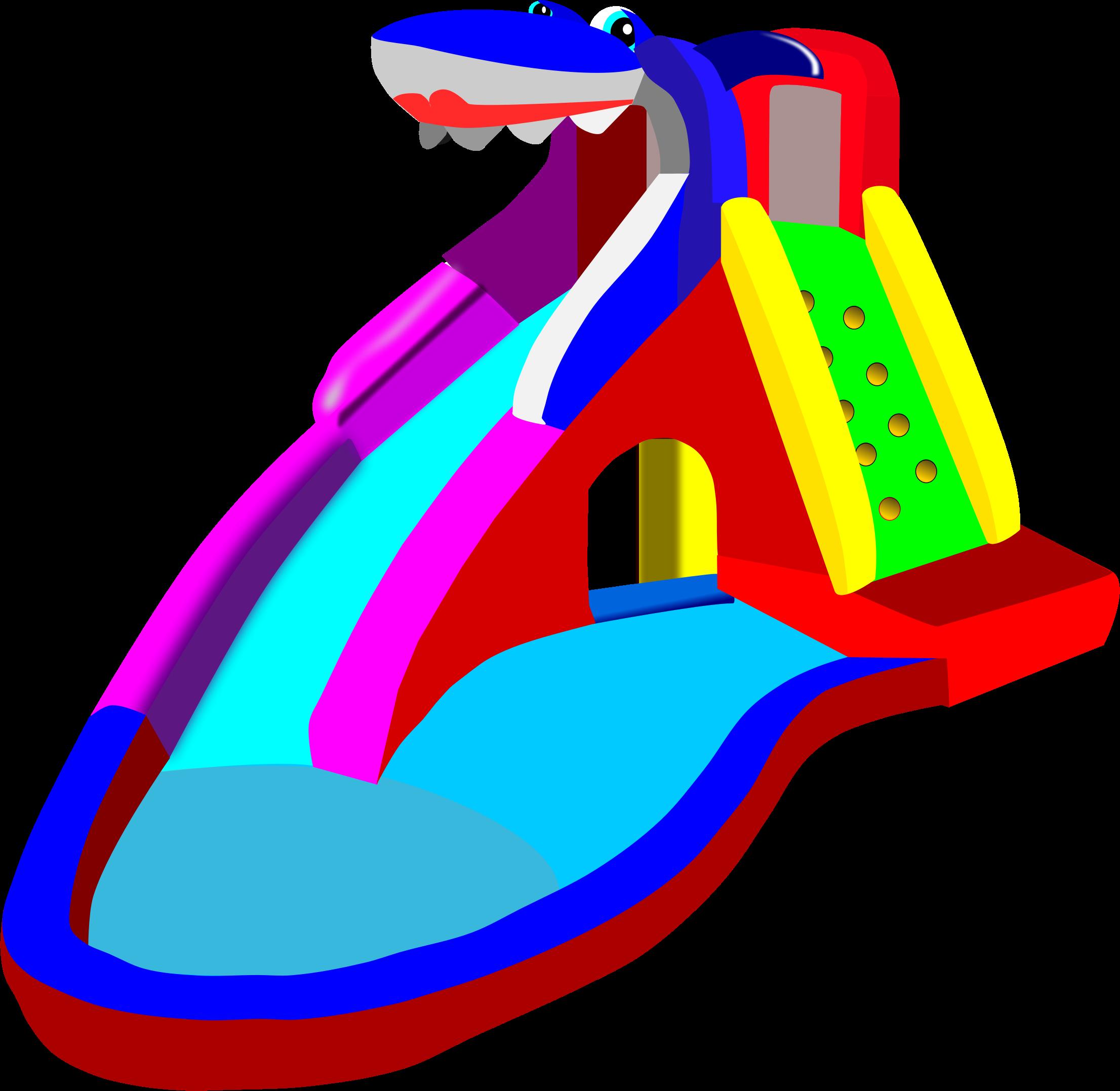 Water Slide Clip Art #12690