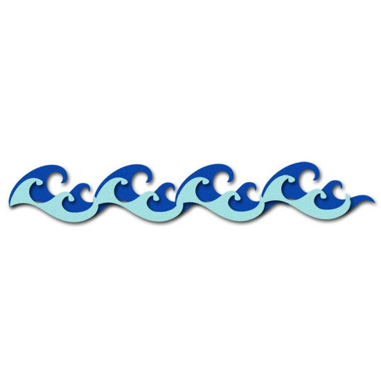 Water Waves Border Clipart Clipart Panda Free Clipart Images