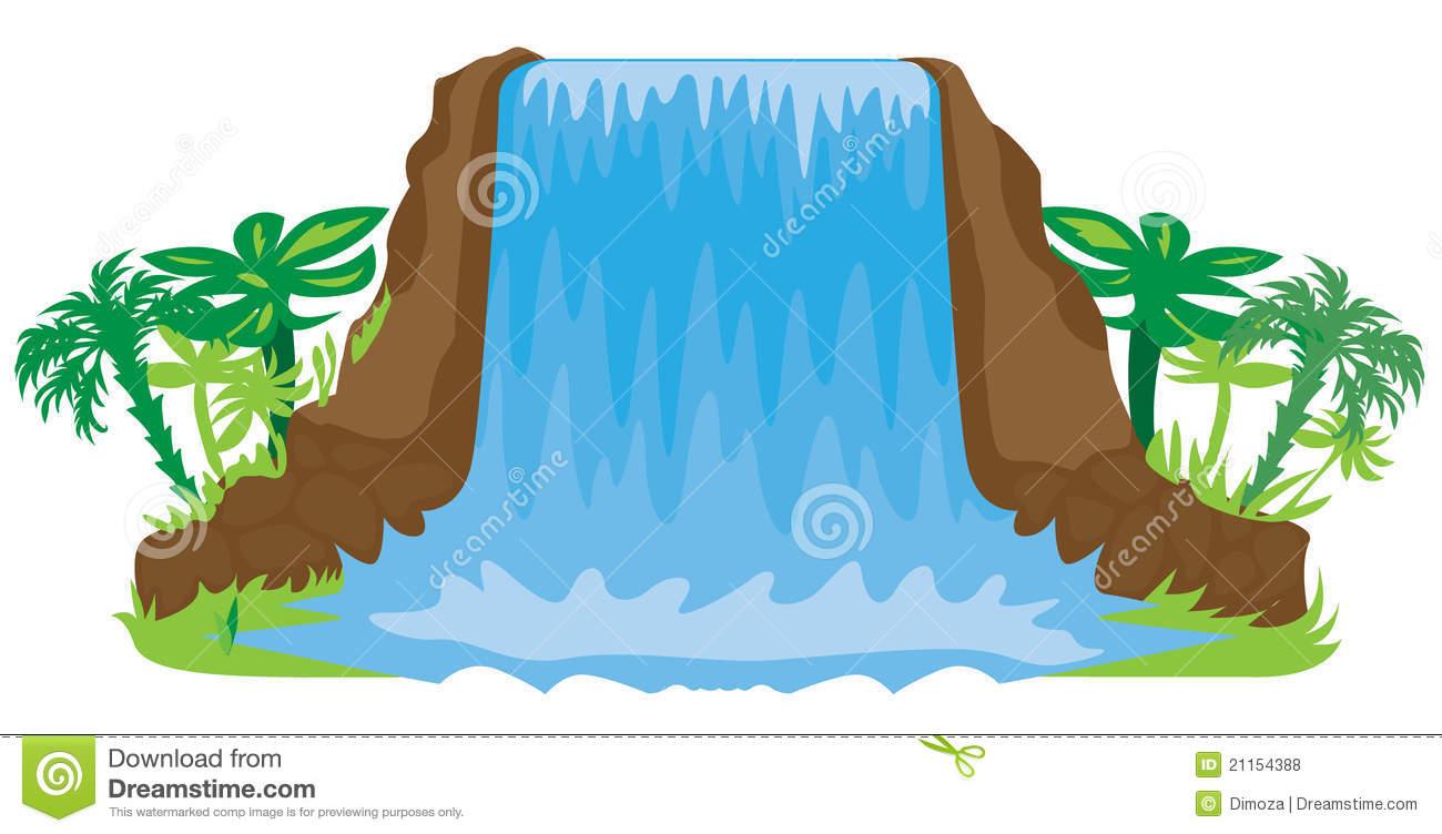 waterfall clipart - Waterfall Clipart