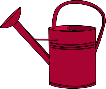 Watering Can Clipart Black And White-watering can clipart black and white-12