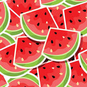 . ClipartLook.com Seamless background wi-. ClipartLook.com Seamless background with watermelon-13
