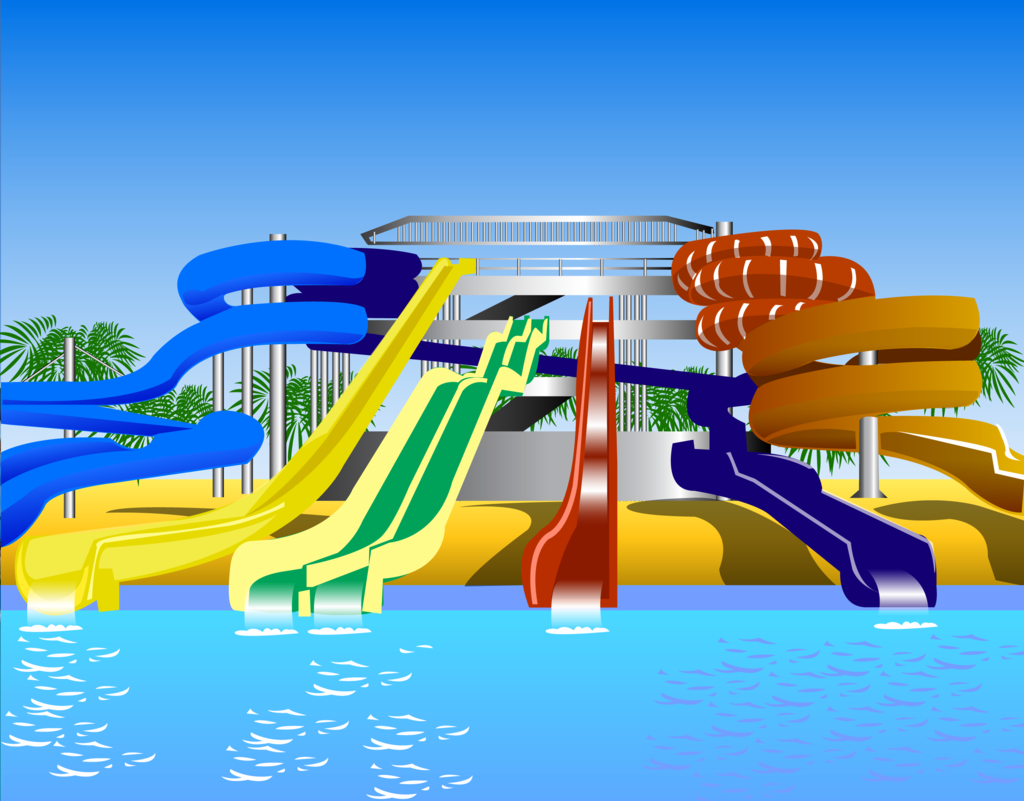 Waterpark by gkranston . - Water Park Clipart