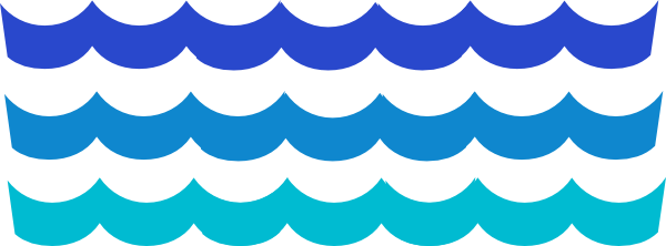 Water Waves Border Clipart Cl