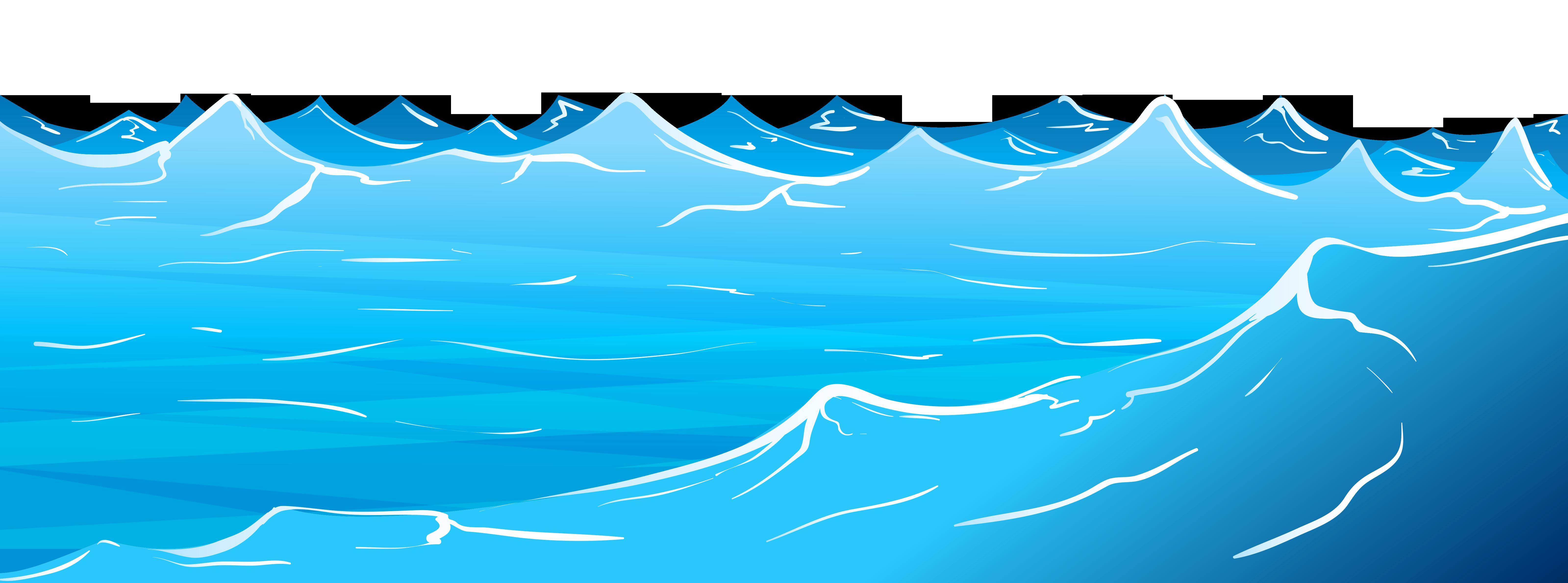 Waves ocean water clipart-Waves ocean water clipart-1