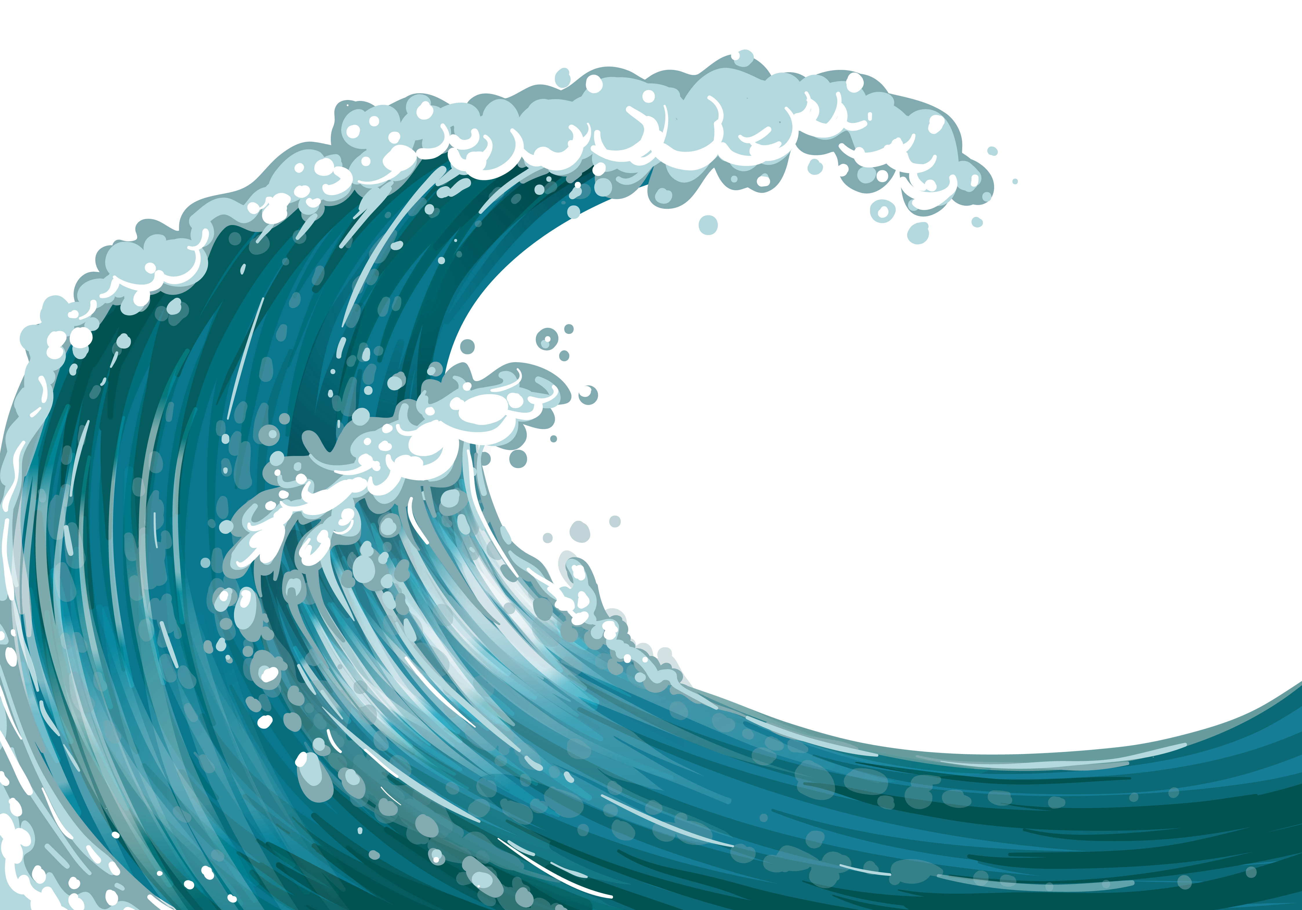 Waves sea wave clipart
