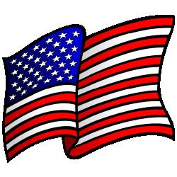 Waving American Flag Clip Art Free Borde-Waving american flag clip art free borders and clip art-19