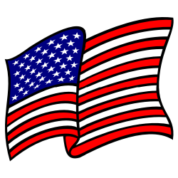 Waving American Flag Solid-Waving American Flag Solid-17