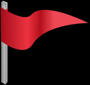 Waving gray flag clip art high quality clip art