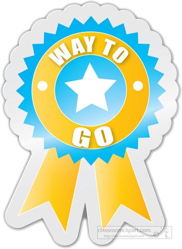 Way to Go Motivational Award .