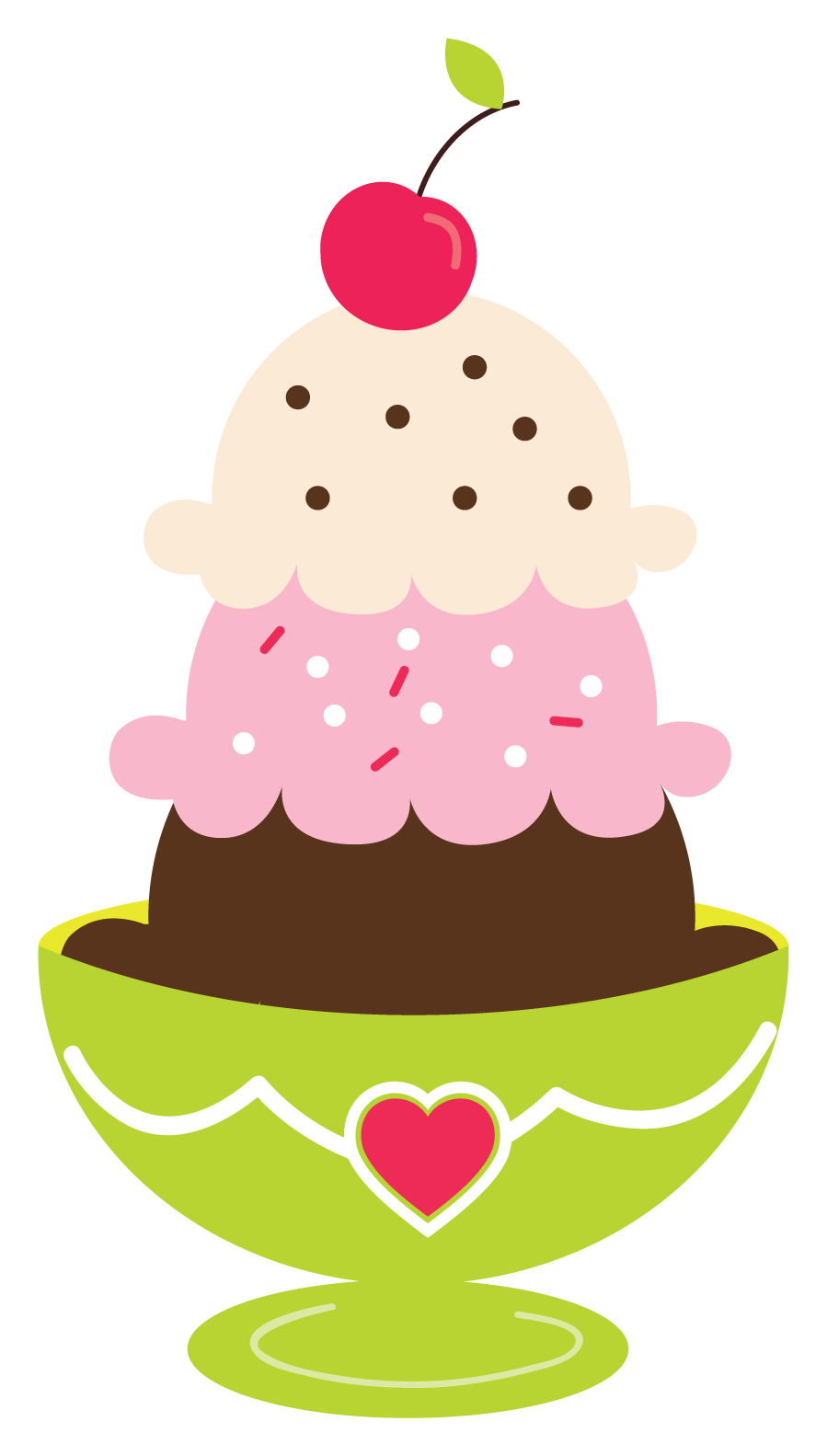 We All Scream For Ice Cream C - Ice Cream Sundae Clipart