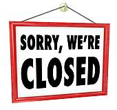 We Are Closed Clipart