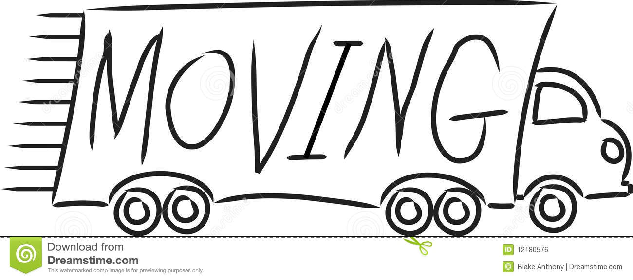 We Re Moving Clipart Cliparth - Moving Clip Art Free