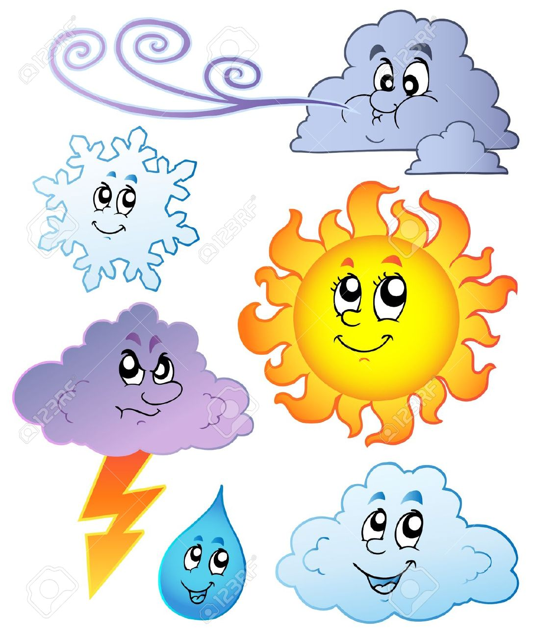 Weather Clipart Cartoon Weather Clipart -weather clipart cartoon weather clipart #1-13
