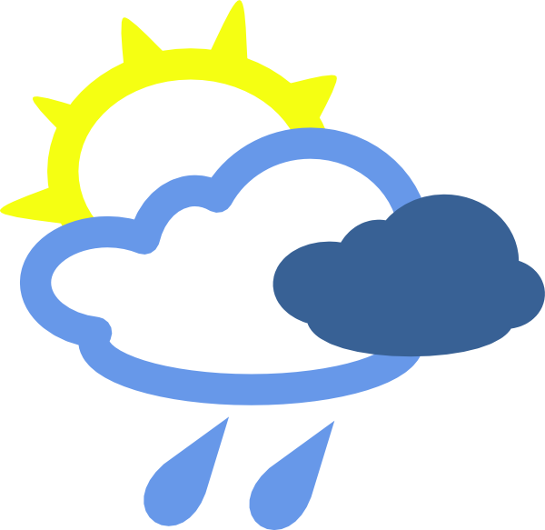 Weather Forecast Symbols Clipart Best