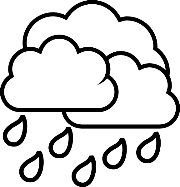 Weather Storm Rain Clip Art At Clker Com Vector Clip Art Online