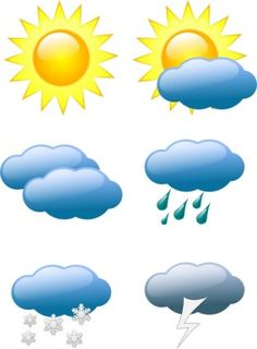 Weather Symbols Clip Art-Weather Symbols clip art-19