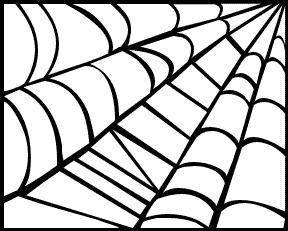 web clipart - Spider Web Clipart
