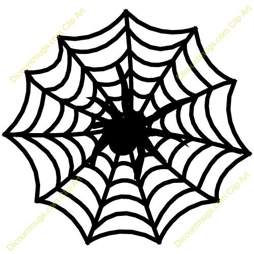Cartoon spider web clipart -
