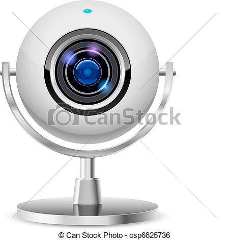 Realistic computer web cam - csp6825736