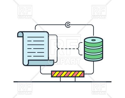 Log management and intelligence for web hosting server, 179328, download  royalty-free vector ClipartLook.com