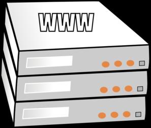 Managed Server Hosting Clip Art