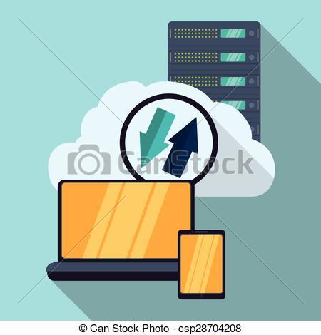 Web hosting design. - csp28704208