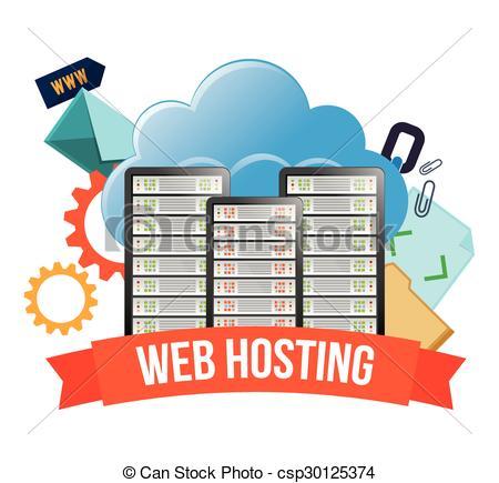Web hosting design - csp30125374
