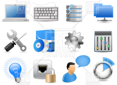 Web Hosting Panel icons, 5752, download royalty-free vector vector image ClipartLook.com