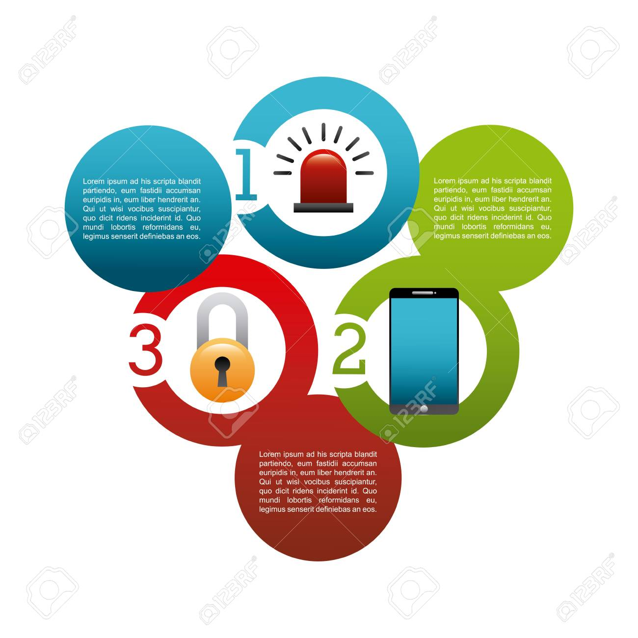 Web Security Clipart infographic