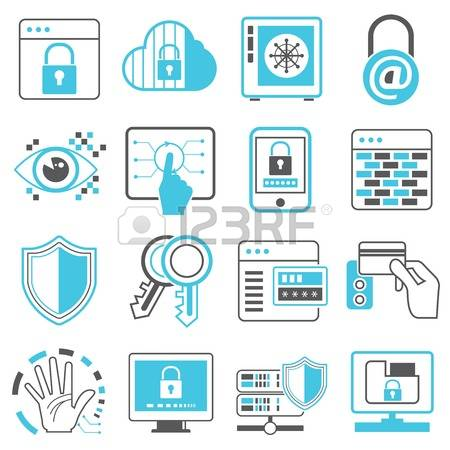 Web Security Clipart information security