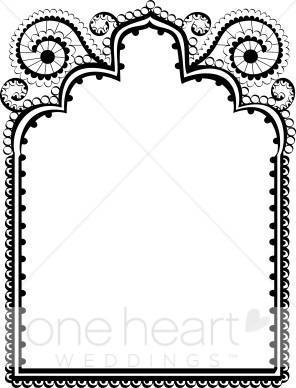 wedding border clipart - Wedding Border Clipart