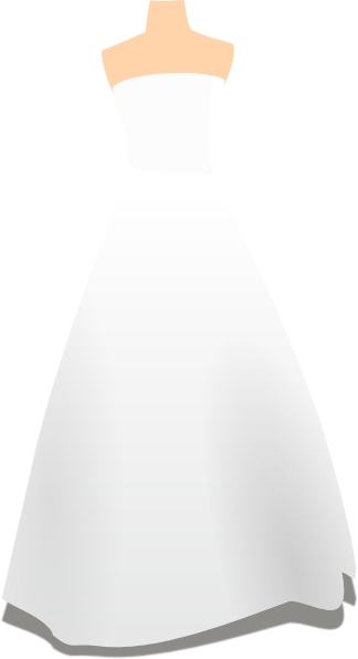 Wedding Dress Clipart-wedding dress clipart-10