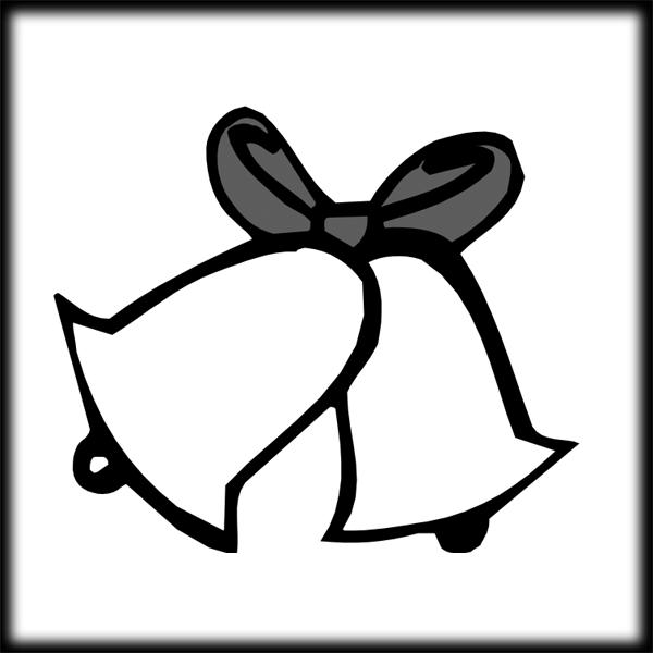 Wedding bell clip art