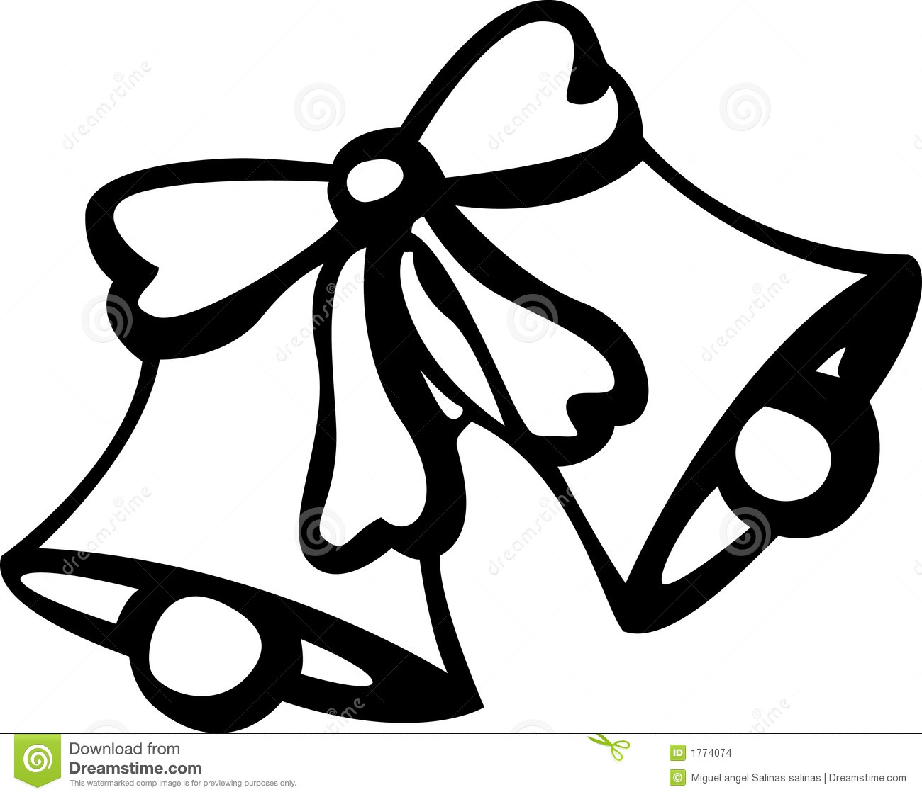 Wedding Bells Clipart Black . Wedding and christmas bells .