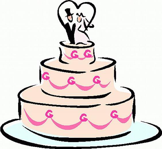 Wedding Cake Clip Art #17141. - Wedding Cake Clip Art